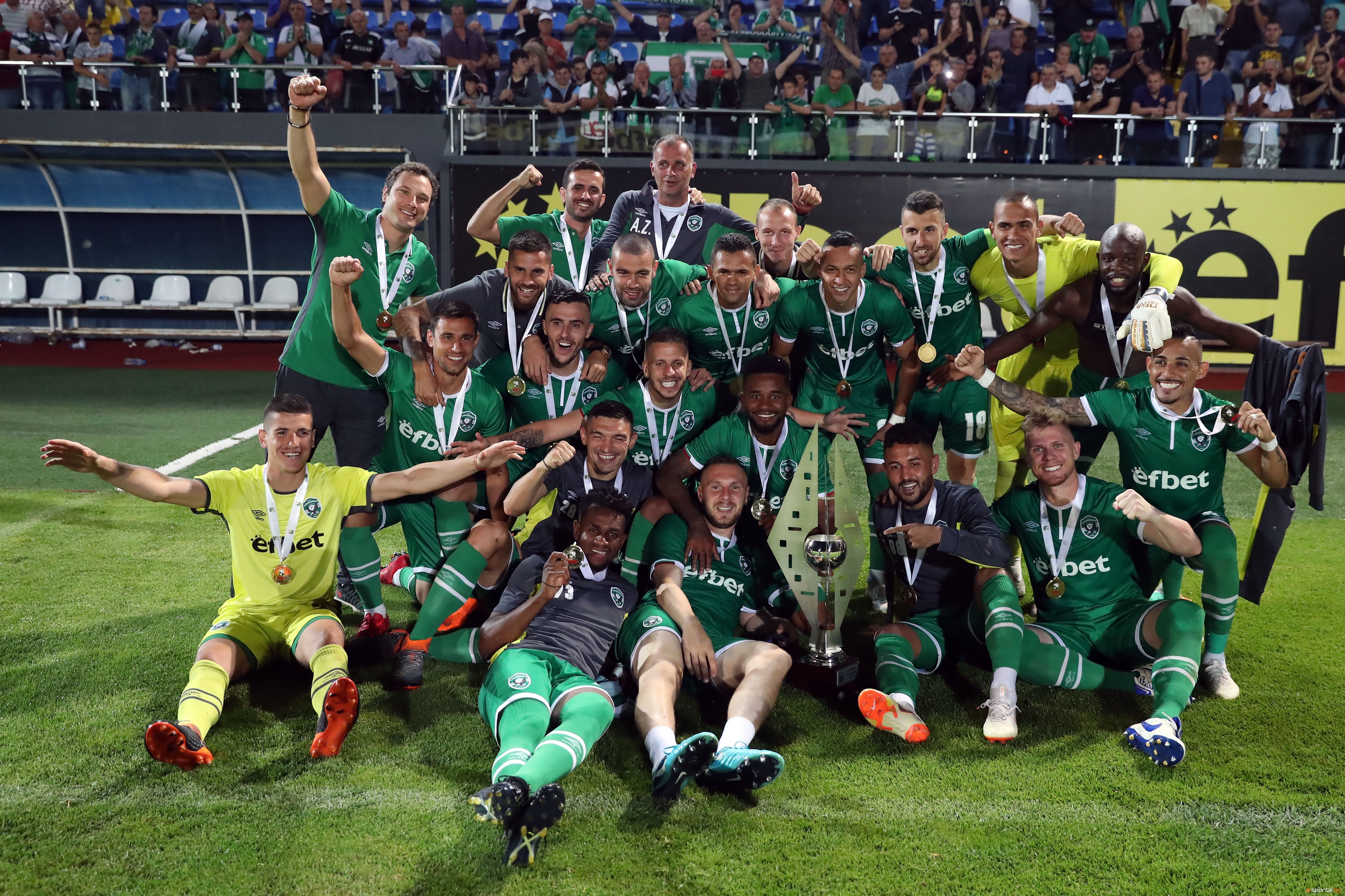 Шампионът и хегемон в българския клубен футбол Лудогорец стартира днес