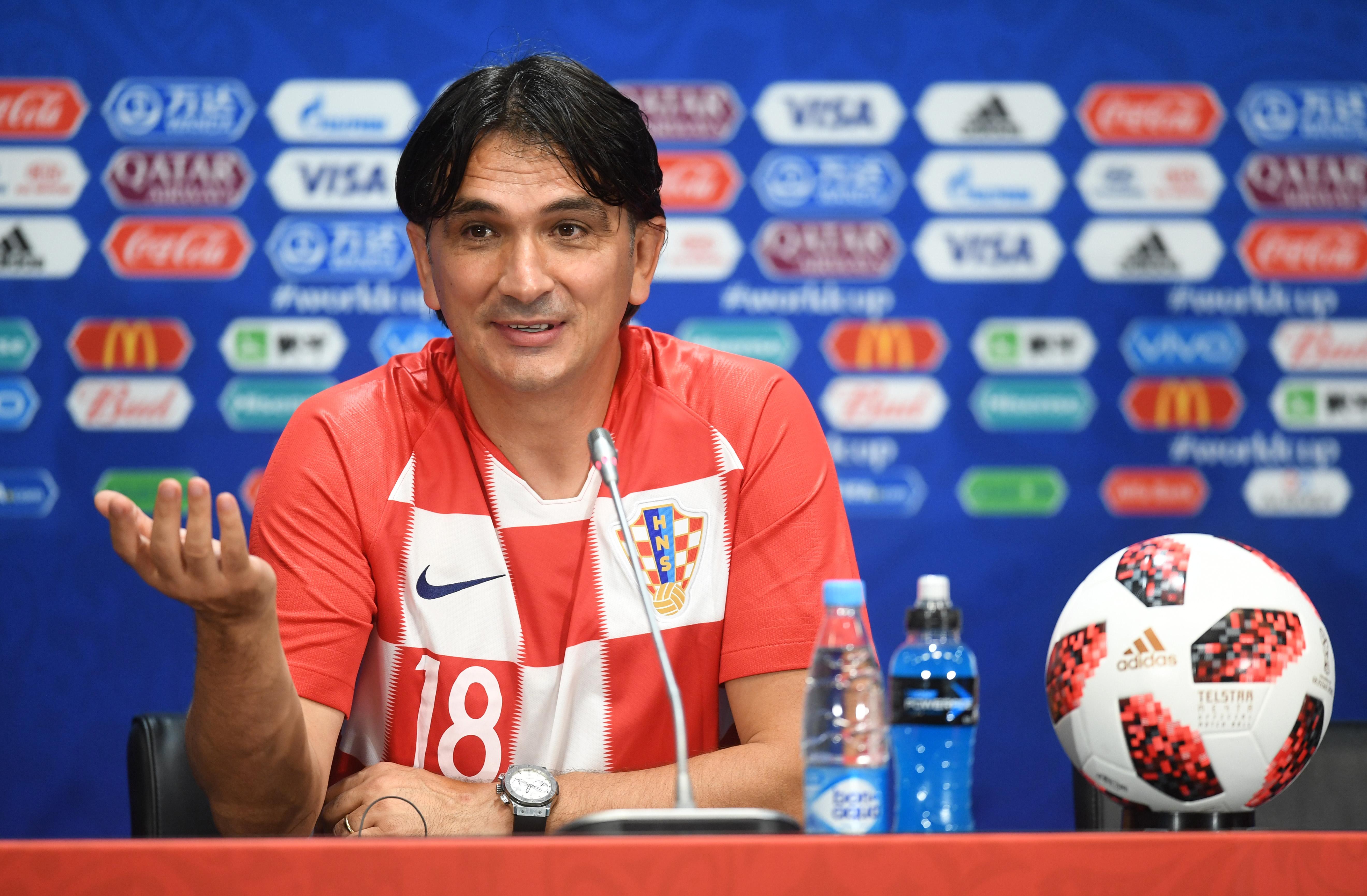 Националният треньор на Хърватия Златко Далич заяви, че на финала