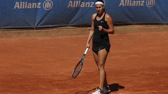 Българката Джулия Терзийска се класира за полуфиналите на двойки на