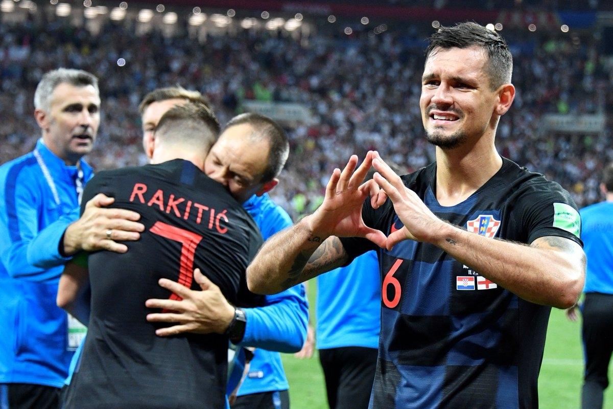 Защитникът на Хърватия Деян Ловрен влезе в историята на футбола