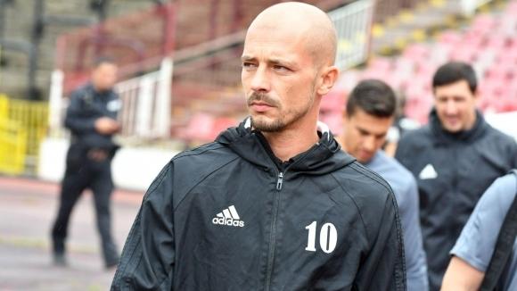 Наставникът на ЦСКА-София Нестор Ел Маестро похвали футболистите си за