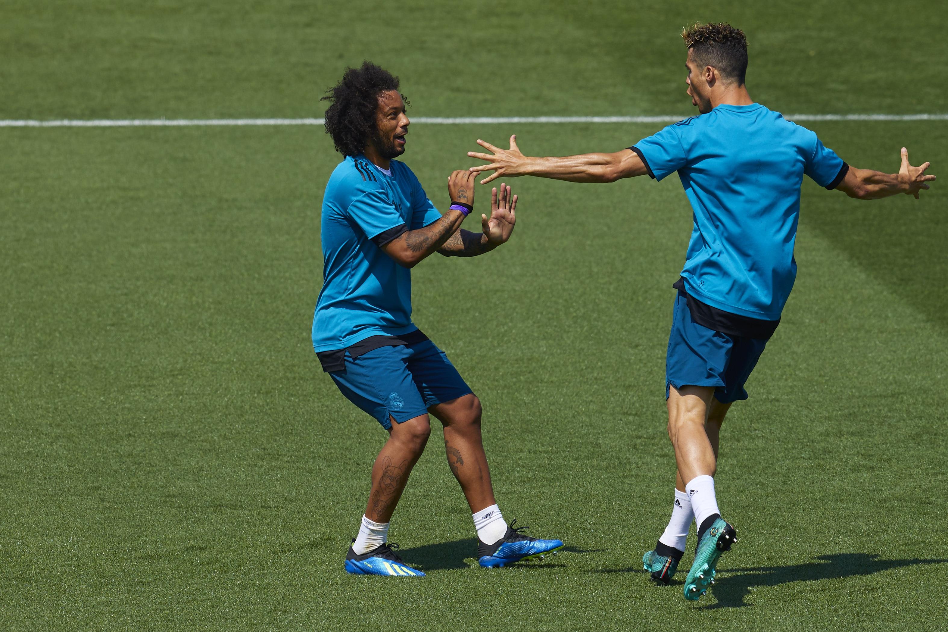 Бразилският защитник на Реал Мадрид Марсело днес написа прочувствено послание