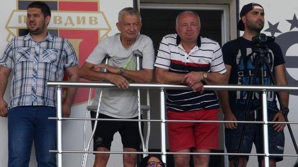 Собственикът на Локомотив (Пловдив) Христо Крушарски коментира днешната победа на