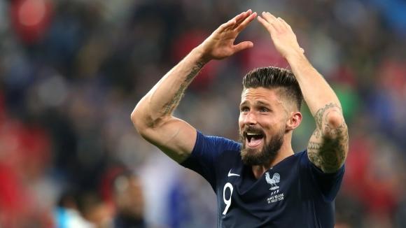 Нападателят на френския национален отбор Оливие Жиру е доволен от