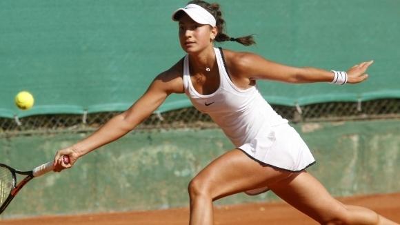 Българката Петя Аршинкова отпадна на полуфиналите на турнира по тенис