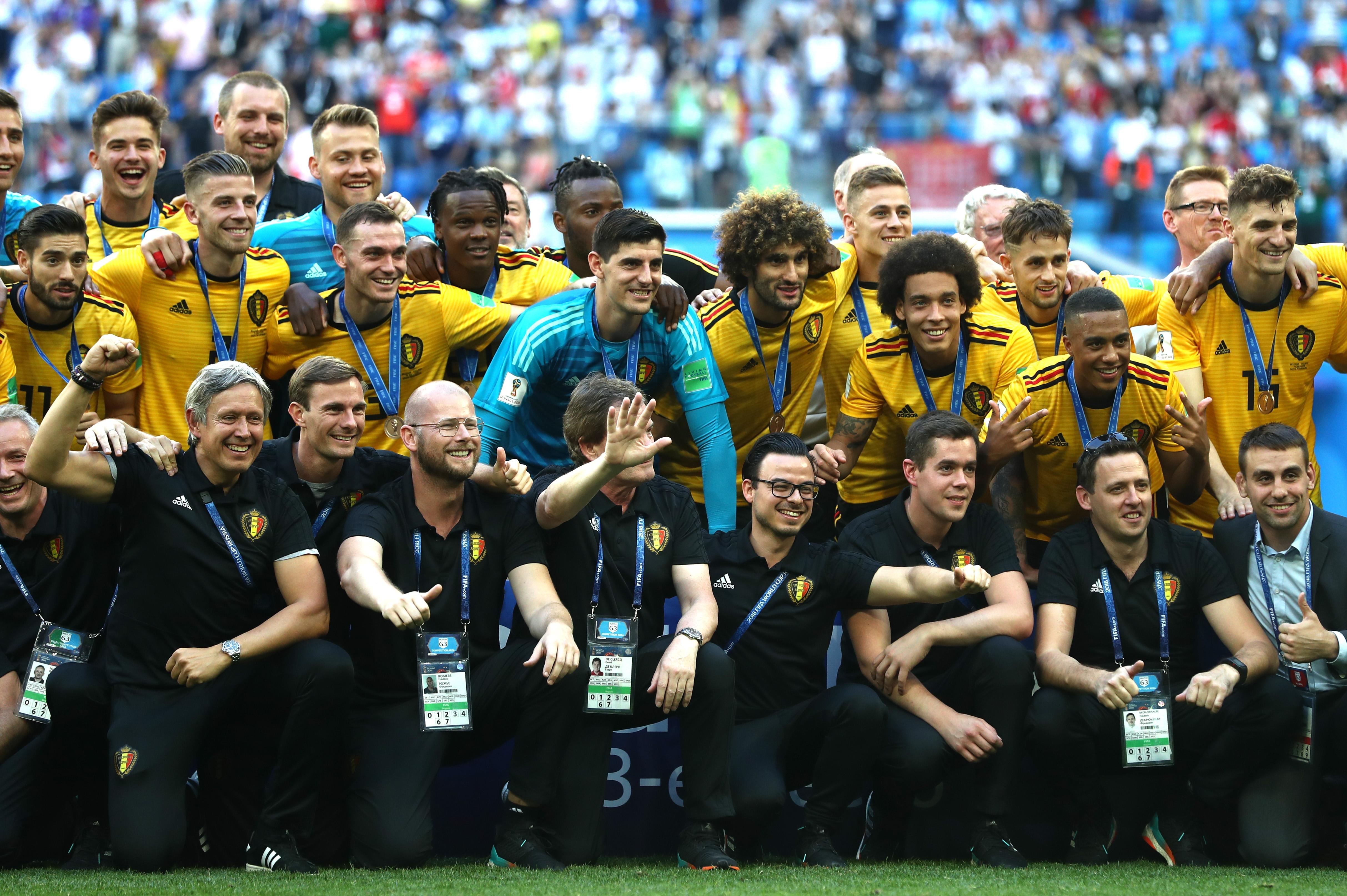 Белгия и Англия излизат на стадион