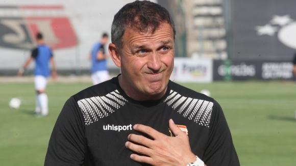 Наставникът на Локомотив (Пловдив) Бруно Акрапович коментира успеха на своя