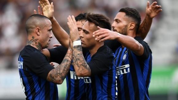 Тимът на Интер започна лятната подготовка с категорична победа с