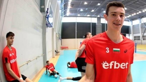 Един от големите таланти на българския волейбол Аспарух Аспарухов ще