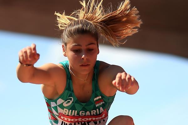 Александра Начева стана световна шампионка в тройния скок от шампионата