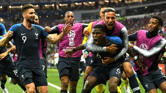 Новият световен шампион Франция постави рекорд на Мондиал`2018 в Русия.