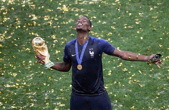 Халфът на Франция Пол Погба направи емоционално изказване след финала