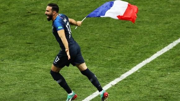 Един от героите за Франция на Мондиал 2018 Адил Рами