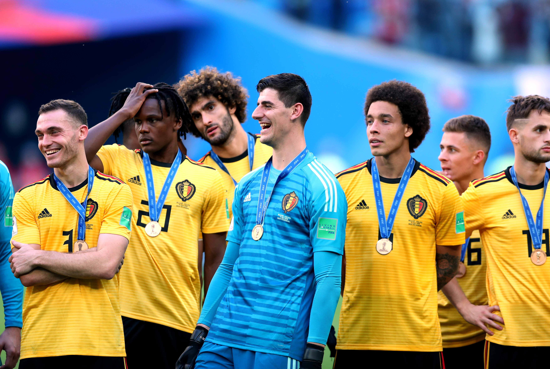 Всеки от футболистите на националния отбор на Белгия, който зае