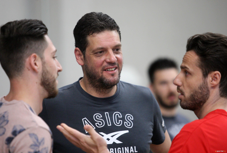 Селекционерът на мъжкия национален отбор на България по волейбол Пламен