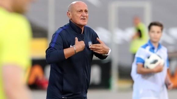 Наставникът на Левски Делио Роси отказа да подаде оставка след