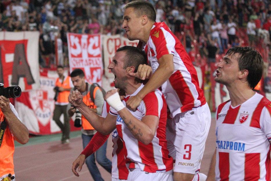 Цървена звезда победи с 2:0 латвийския Спартакс Юрмала и си