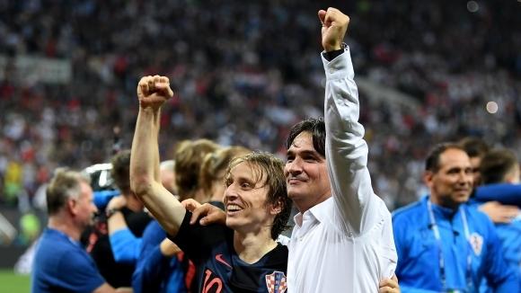 Спортно-техническият щаб и футболистите на Хърватия ще дарят всичките 23