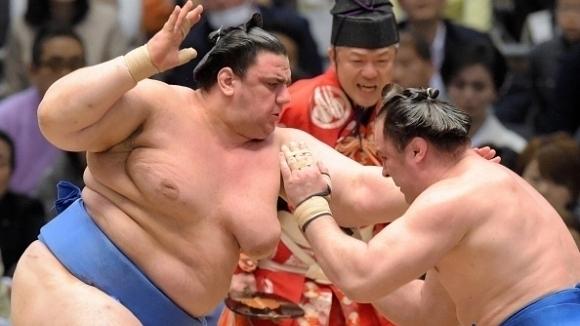 Даниел Иванов-Аоияма спечели шестата си победа на турнира по сумо