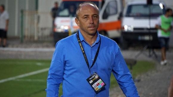 Старши треньорът на Черно море Илиан Илиев сподели първите си