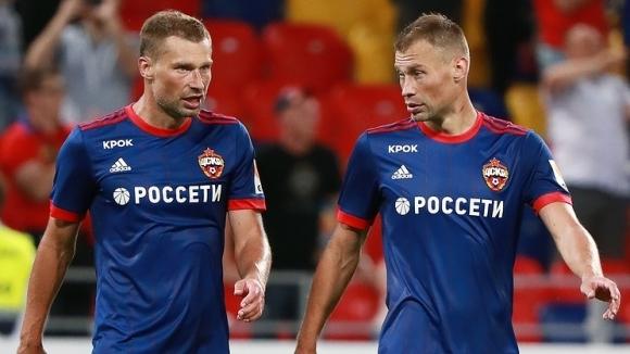 Защитниците на ЦСКА (Москва) братята Алексей и Василий Березуцки обявиха