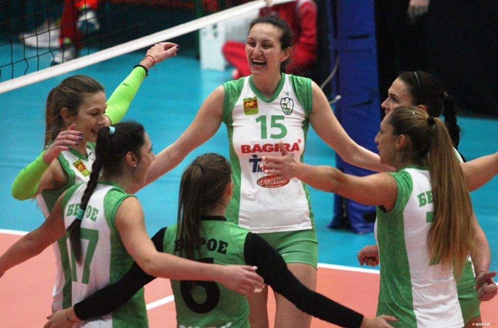 Женският волейболен отбор на Берое (Стара Загора) започна съвместна подготовка