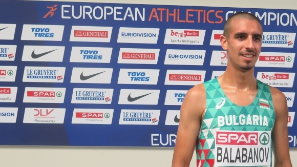 Един от дебютантите в българския отбор на европейско първенство при