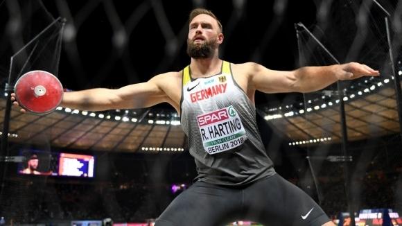Световният шампион в мятането на диск от Лондон 2017 Андриус