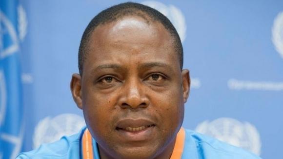 Легендата на футбола в Замбия Калуша Бвалия, член на Изпълнителния