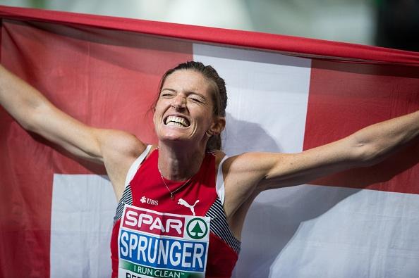 Швейцарката Леа Шпрунгер спечели титлата на 400 метра с препятствия