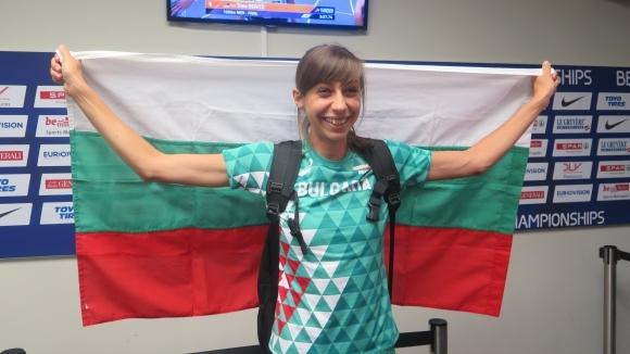 Мирела Демирева донесе първия медал на България от Европейското първенство