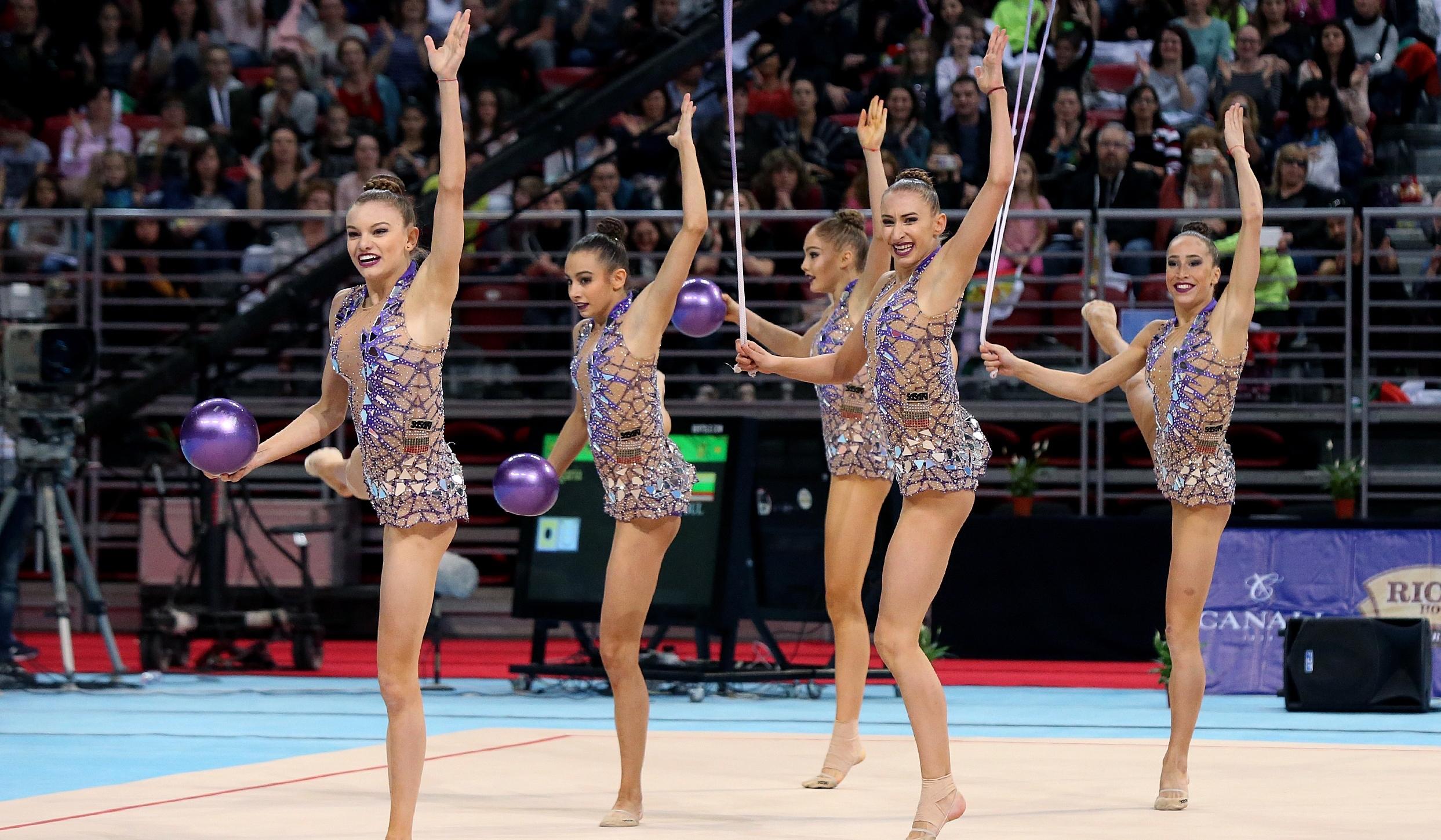 Българският ансамбъл по художествена гимнастика за жени ще участва на