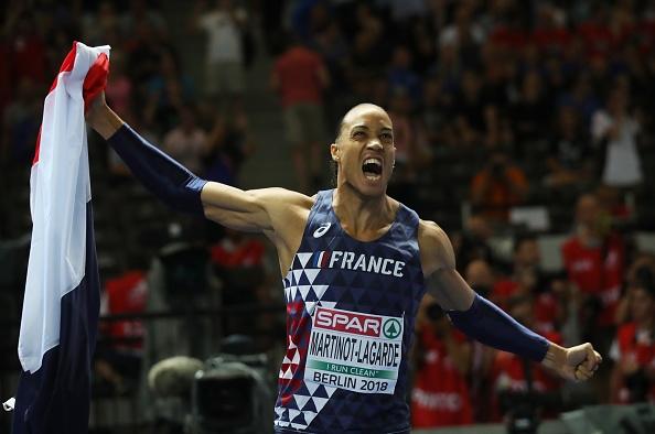 Паскал Мартино-Лагард от Франция спечели титлата в бягането на 110