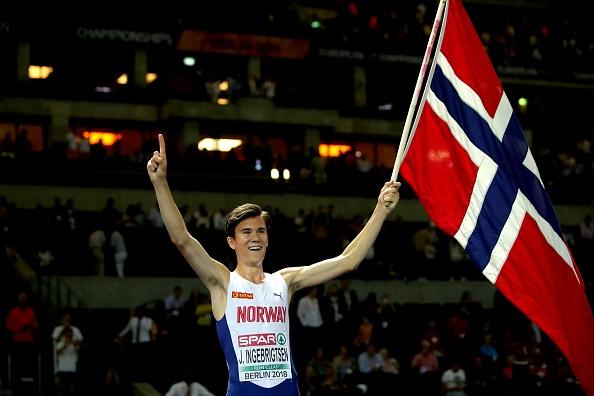 17-годишният Якоб Ингебригтсен спечели европейската титла в бягането на 1500
