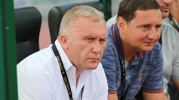 Старши треньорът на Ботев (Пловдив) Николай Киров сподели първите си