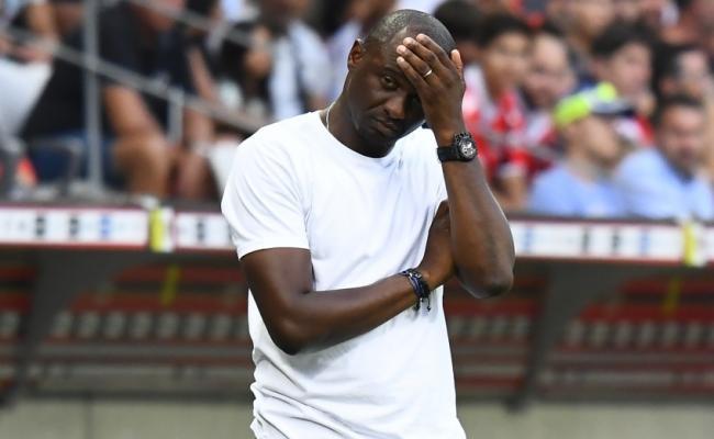 Патрик Виейра дебютира като треньор на Ница с неприятна загуба.