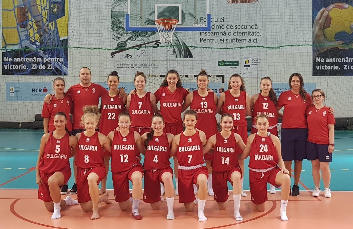 Ясен е окончателният състав на националния отбор за момичета до