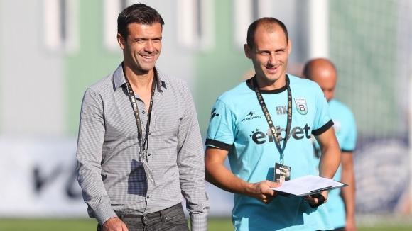 Въпреки днешната загуба с 2:0 от Лудогорец, наставникът на Витоша