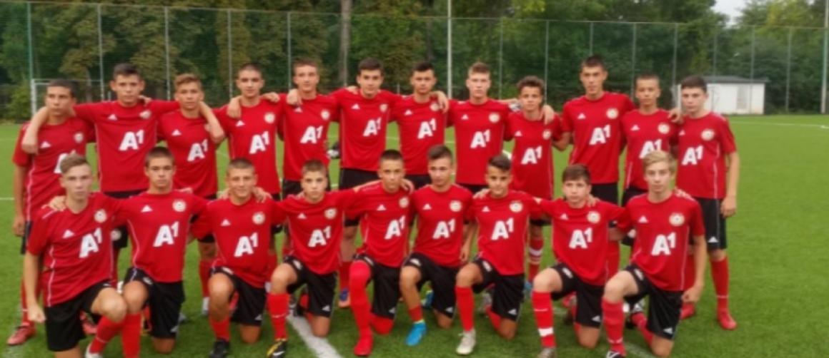Юношите на ЦСКА-София, родени през 2004 година, ще премерят сили