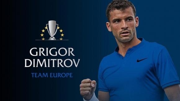 Най-добрият български тенисист Григор Димитров ще бъде част от отбора