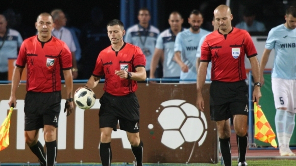 Шефът на съдиите в българския футбол Йордан Сталев, коментира впечатленията