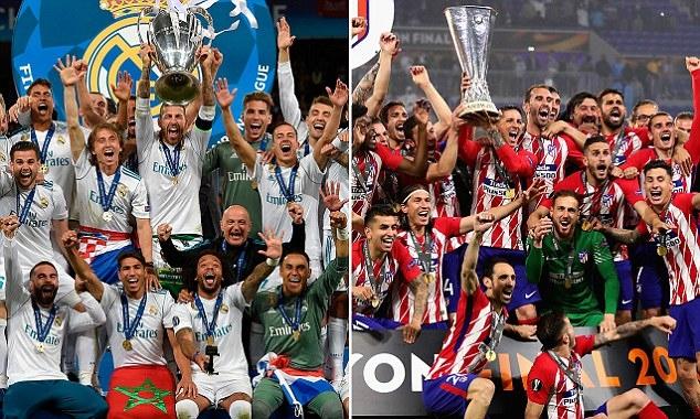 Европейският клубен шампион Реал Мадрид излиза срещу съгражданите си от