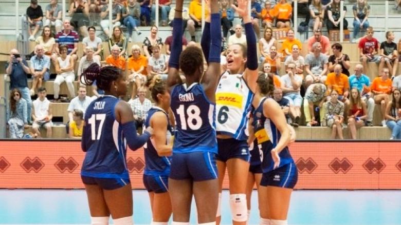 Женският национален отбор на Италия, който е един от съперниците