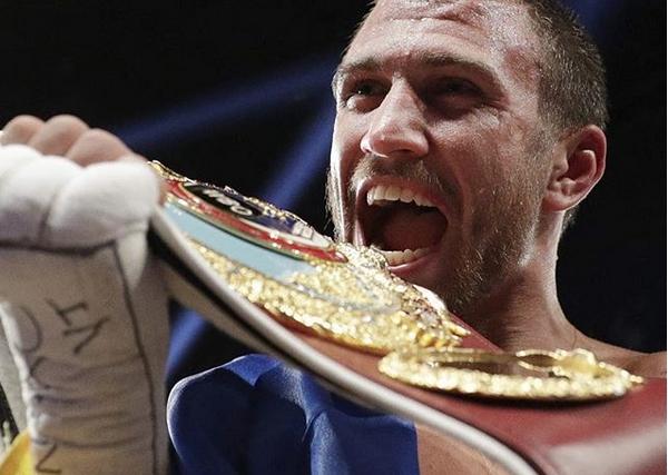 Световният шампион в три категории Васил Ломаченко, може би най-добрият