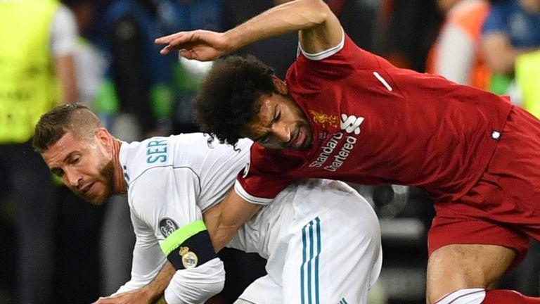 Капитанът на Реал Мадрид Серхио Рамос използва пресконференцията преди двубоя