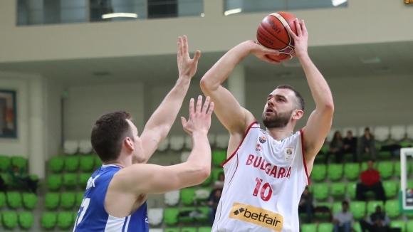 Един от капитаните на националния отбор на България по баскетбол