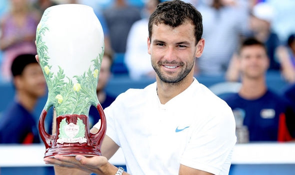 Шампионът от миналия сезон Григор Димитров тази седмица ще защитава