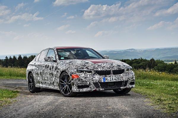 В момента следващото поколение на BMW Серия 3 Седан преминава