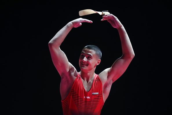 Седмият на прескок от Европейското първенство по спортна гимнастика в