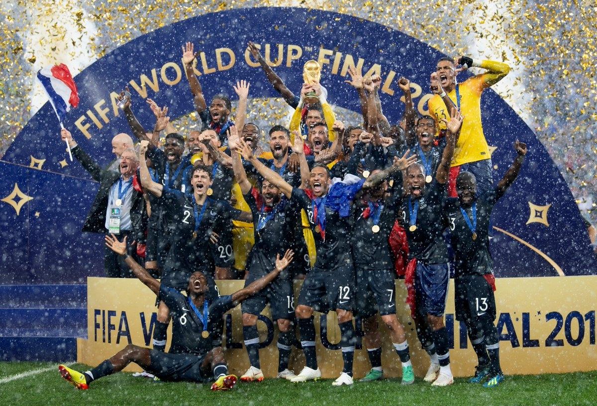 Световният шампион Франция закономерно се изкачи на първо място в